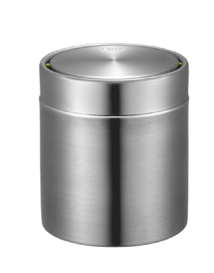 EKO Fandy Table Bin 1.5L - Stainless Steel (EK9204) - 12cm(d) x 13.5cm(h)